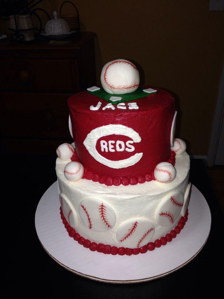 Decorating Ideas > Cincinnati Reds Cake  Birthday Ideas  Pinterest ~ 215317_Birthday Party Ideas Cincinnati