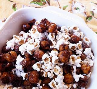 Roasted Honey Cinnamon Chickpeas | Food & Entertaining | Pinterest
