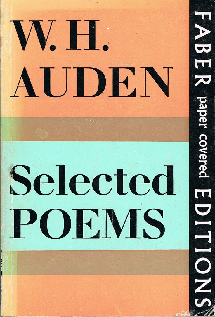 w h auden selected essays