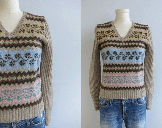 Vintage Ralph Lauren Fair Isle Sweater ... loving it.