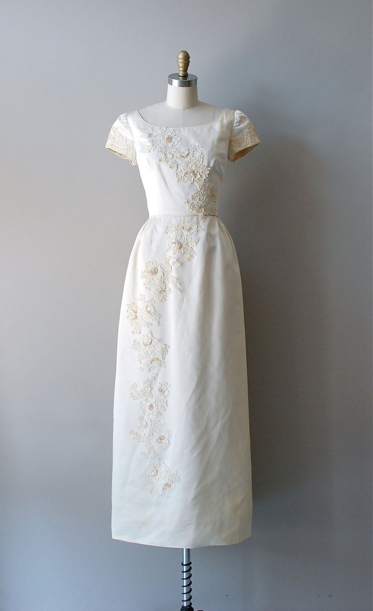 Vintage wedding dress 1960s wedding pinterest for Vintage dresses to wear to a wedding