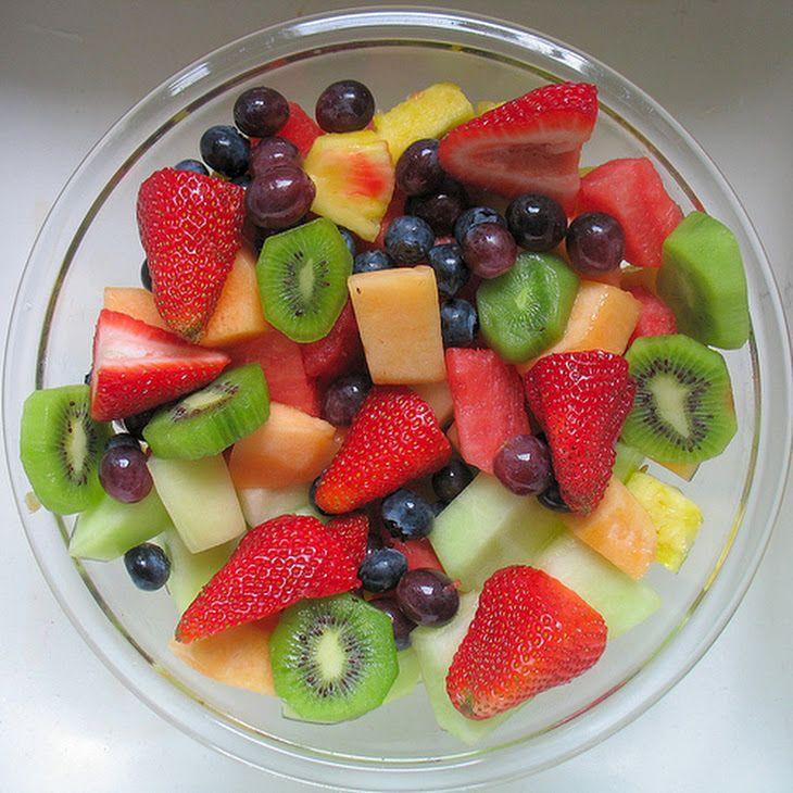 healthy fruit water fruit salad recipe