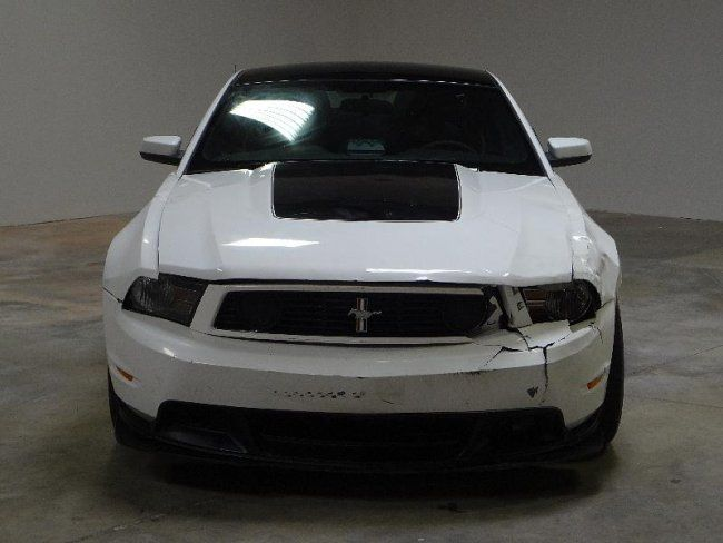 boss 302 wrecked | 2012 Ford Mustang Boss 302 Damaged Salvage Hard To ...