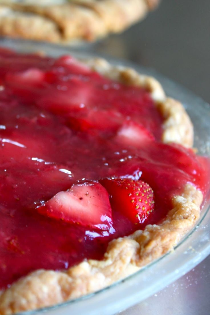 Baked Perfection: Fresh Strawberry Pie   Recipes to Try   Pinterest