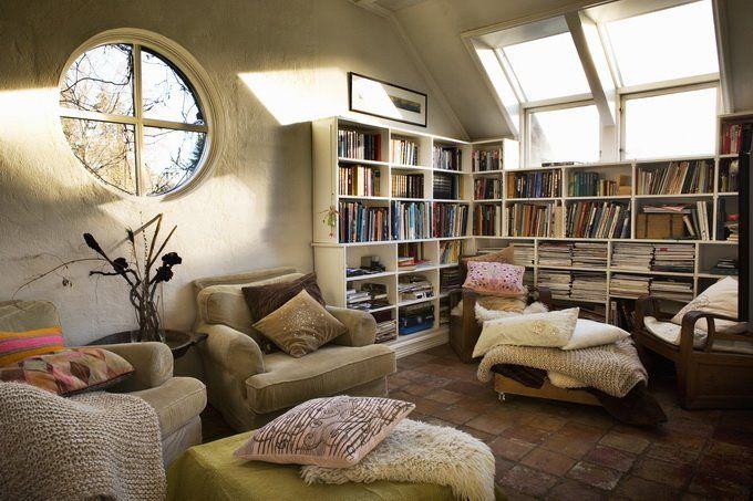 Cozy reading room h o m e pinterest for Cozy reading room design ideas