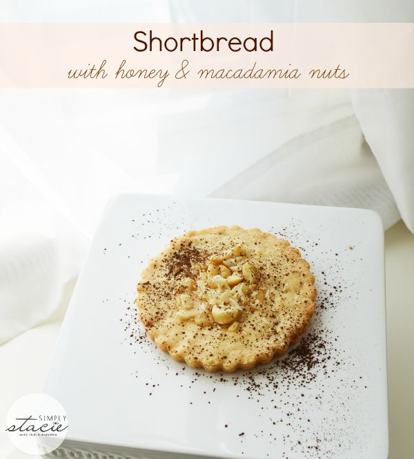 Shortbread with Macadamia Nuts and Honey | Recipe