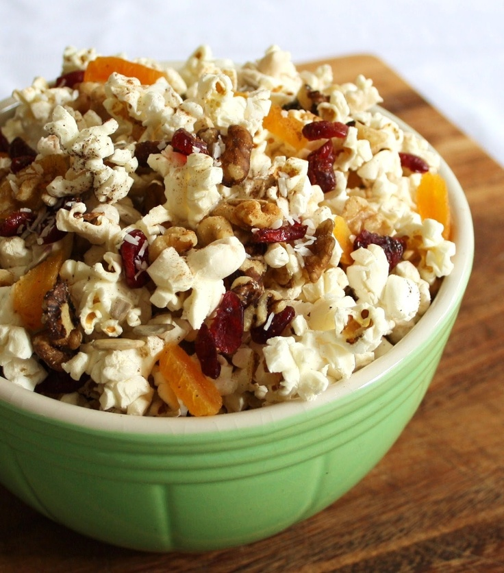Popcorn Trail Mix ~ Sensible, Portable Snacking http://www ...