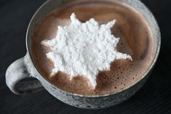 snowflake marshmallows   Things i like   Pinterest