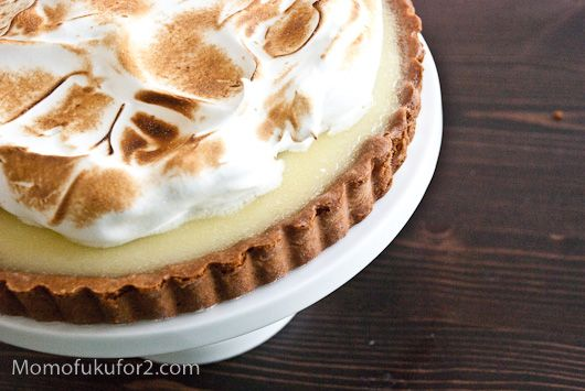 Key Lime Meringue Tart Recipe | Cooking Momofuku at home - Momofuku ...