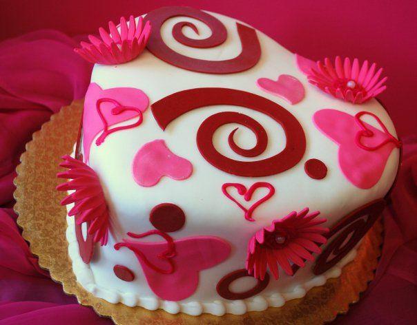 valentine day cake flavors