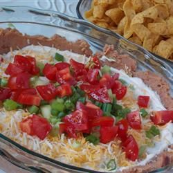 Haystack (The Best 7-Layer Dip Ever) Allrecipes.com I added a layer of ...