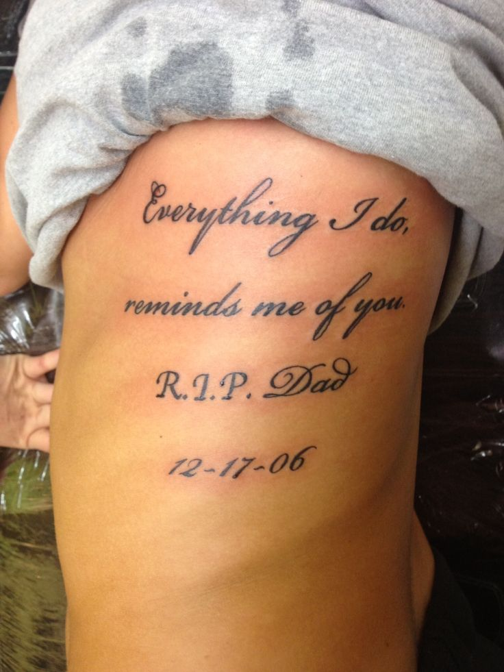 tattoo rip dad quotes quotesgram