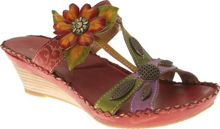 Spring Step Charlotte 2 - Red Leather