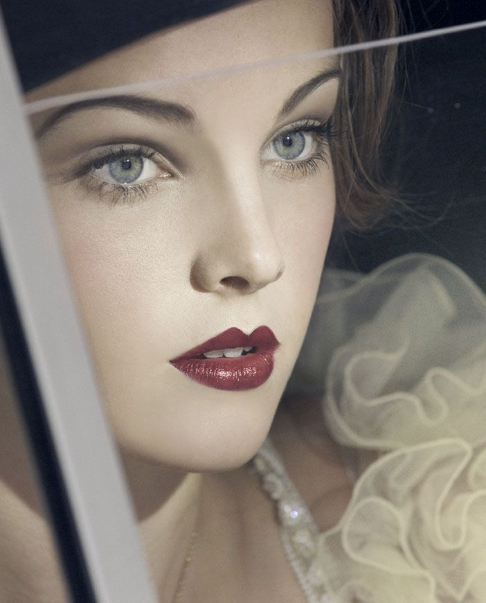 Великий Гэтсби вдохновили свадебные прически и макияж