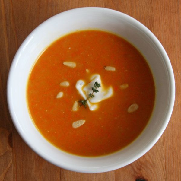 Detox Deliciously: Ginger-Carrot Soup: You may be surprised to learn ...