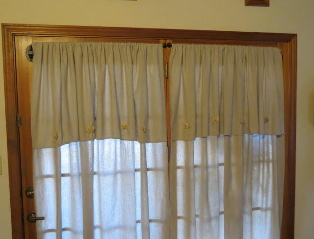 Navy Blue Tab Curtains