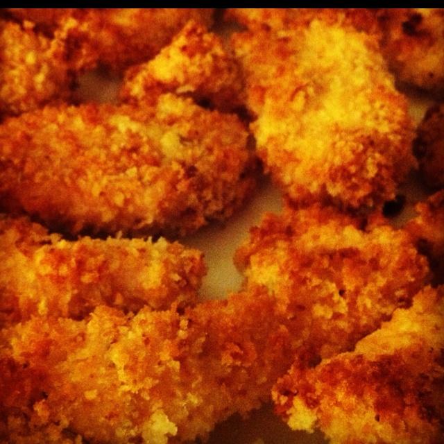 Crispy baked chicken fingers... yummy! | Yummy Recipes | Pinterest