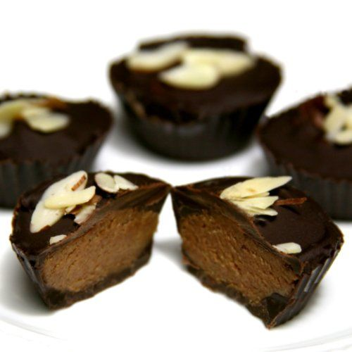 Vegan Almond Butter Cups | Recipe