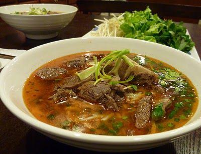 Recipe: Bún bò Huế (Hue Style Beef Noodle Soup)