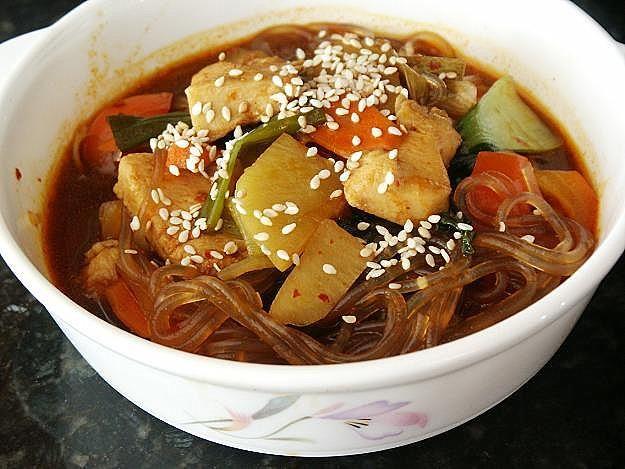 Little Corner of Mine: Korean Chicken Vegetable Stew (Jjim Dak)