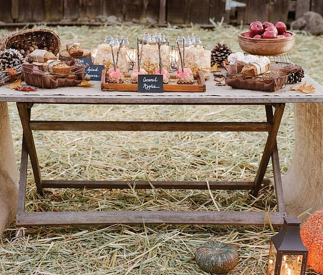 Thanksgiving table rustic decorating pinterest