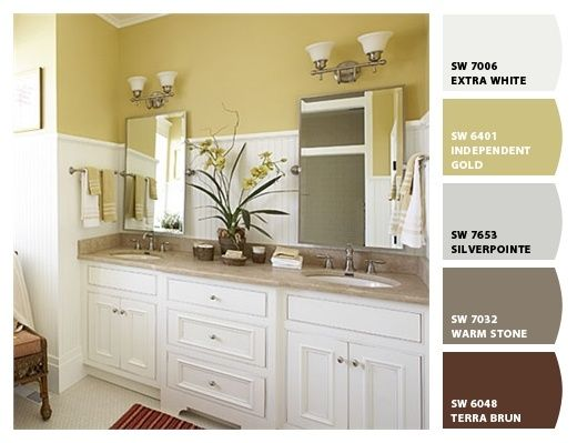 Sherwin williams independent gold paint colors pinterest