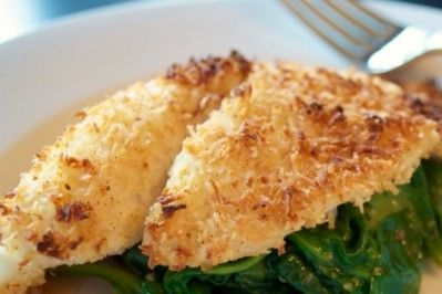 ... crispy crust when the coconut crusted tilapia is baked golden brown