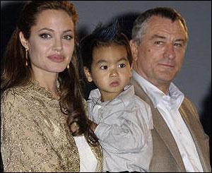 Robert De Niro with Angelina Jolie | Robert De Niro ...