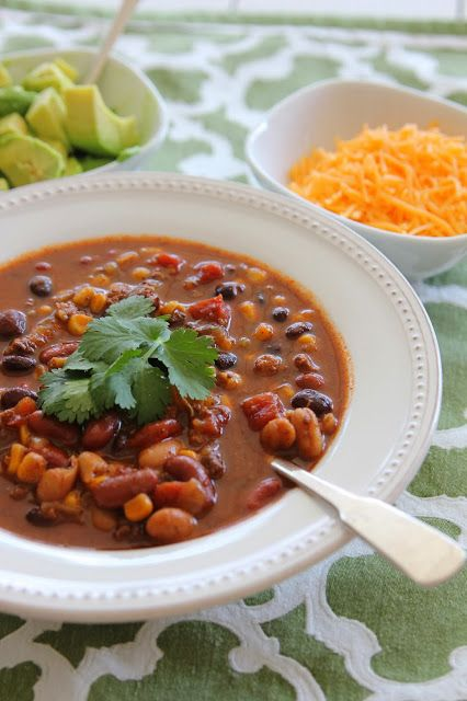 Slow Cooker Turkey Chili from Carmen's Kitch - healthy, quick, and ...
