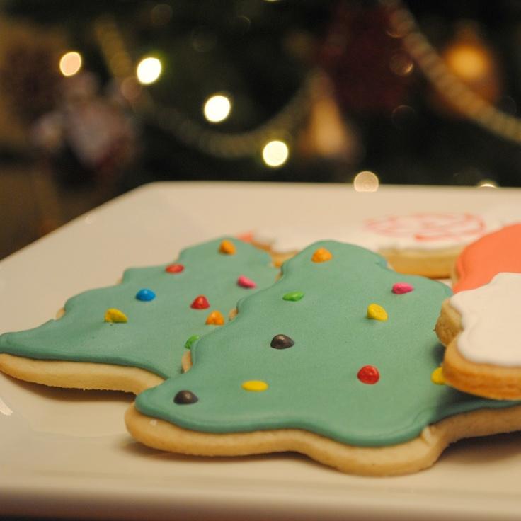 Spiced Brown Sugar Christmas Cookies