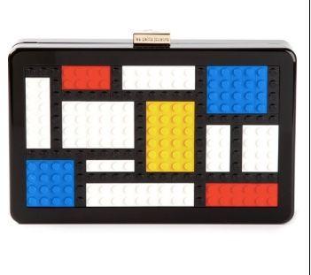 """Les Petit Joueurs """"Mondrian """" bag"""