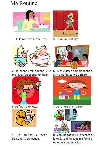 Madame marzulla daily routine - Ma vie en couleur changement d adresse ...