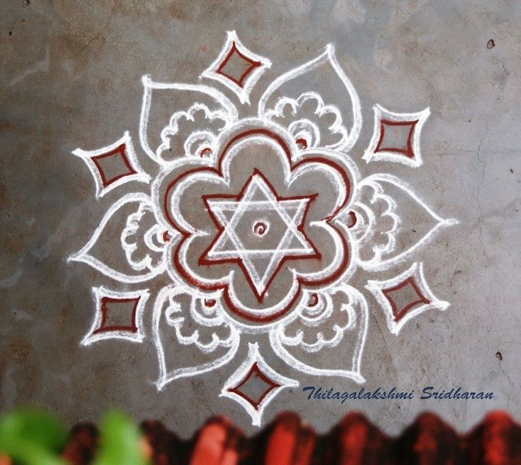 25 Easy Creative Rangoli Designs With Dots To Try In 2019 recommend