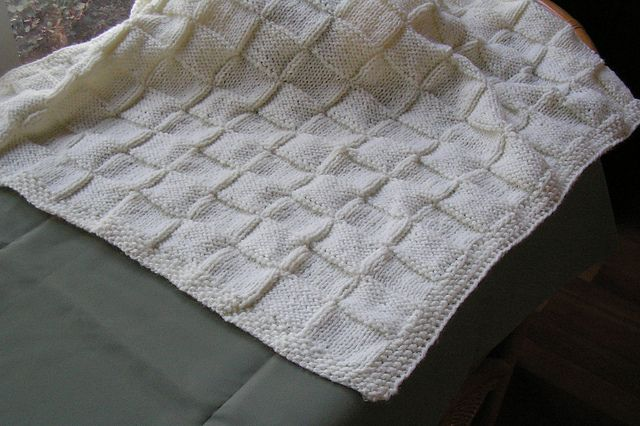 Ravelry Knitting Patterns For Baby Blankets : Ravelry: ingsknits Easy Baby Blanket Knitting Pinterest