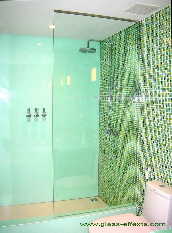 Glass Shower Wall No Door Bath Remodel Pinterest