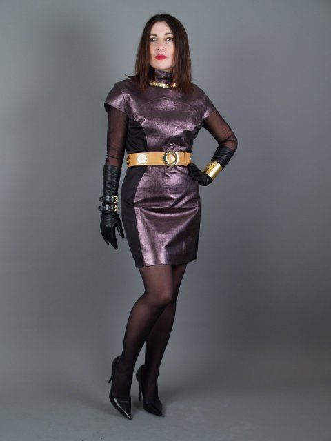 leather dress | Flickr - Photo Sharing! | Wooo ..... Nothing But Ladi ...: pinterest.com/pin/354095589422897155