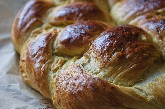 honey-apple-raisin challah…huge and flaky and lightly sweet; best ...