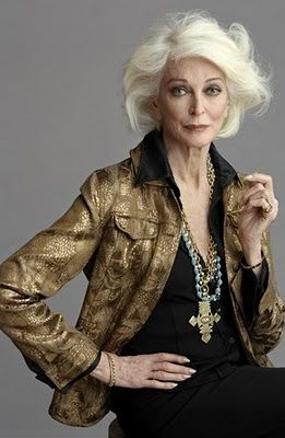 Carmen Dell'Orefice - in her 80s!