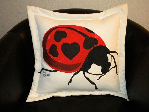 outdoor valentine pillows