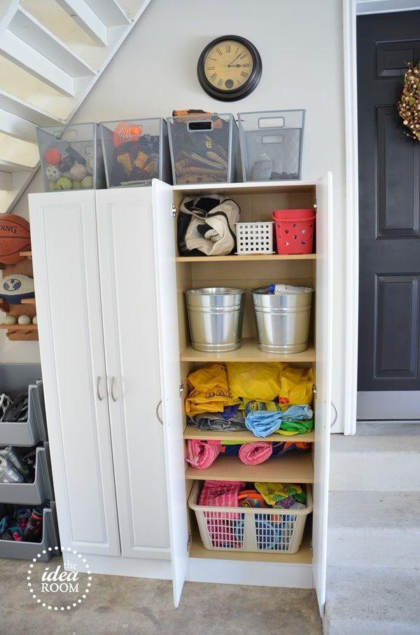 Garage Organization Ideas Diy Home Garden Pinterest