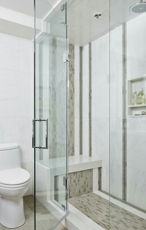 Shower Tile Design Bathroom Pinterest