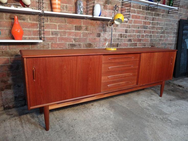 Grote Deense Stroed Dressoir   Furniture   Pinterest