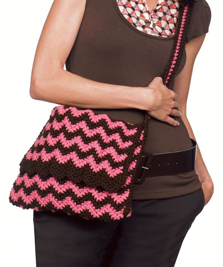 Free Crochet Chevron Purse Pattern : Chevron bag! CrochetBags Pinterest