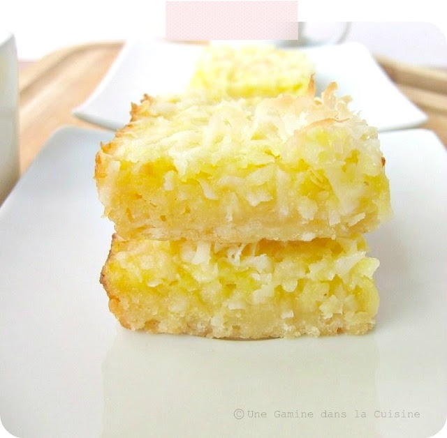 Coconut Lemon Bars, because you can not go wrong with lemon and ...