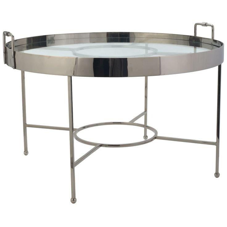 Lazy Susan Silver Radar Coffee Table Coffee Side Tables Pintere