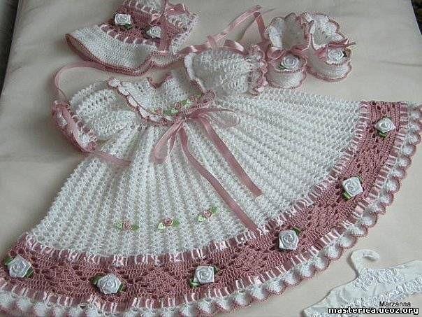 Free Crochet Pattern For Christmas Dress : Holiday Dress free crochet graph pattern Crochet~Baby ...