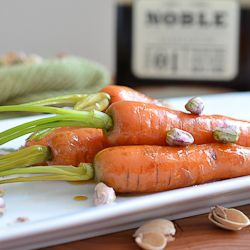 Maple Bourbon Glazed Carrots | FoodEpix Posse | Pinterest