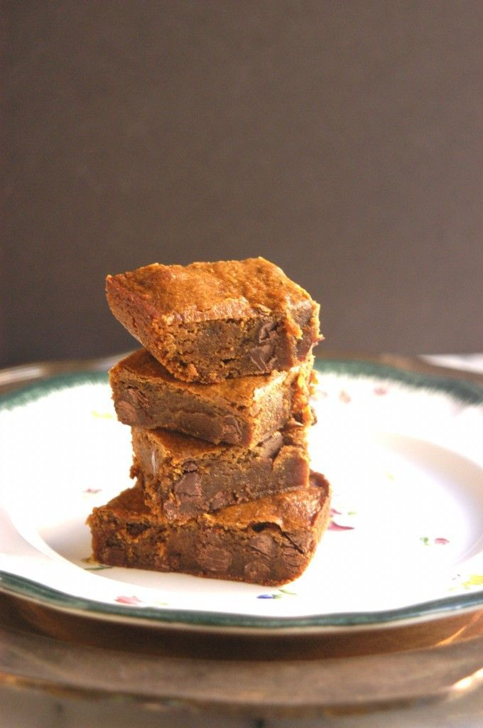 Chocolate Chip Gingerbread Bars | Food | Pinterest