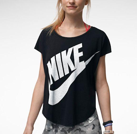 nike crop top sportswear pinterest. Black Bedroom Furniture Sets. Home Design Ideas