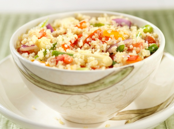 Roasted Vegetable and Quinoa Salad | salad//sides//sauces// | Pintere ...